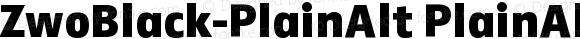 ZwoBlack-PlainAlt PlainAlt Version 4.313
