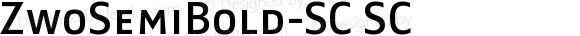 ZwoSemiBold-SC SC Version 4.313