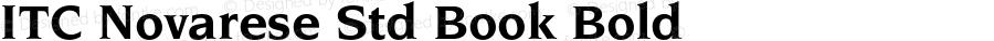 ITC Novarese Std Book Bold OTF 1.018;PS 001.002;Core 1.0.31;makeotf.lib1.4.1585