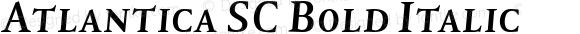 Atlantica SC Bold Italic