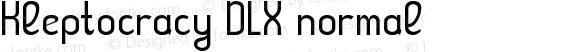 Kleptocracy DLX normal