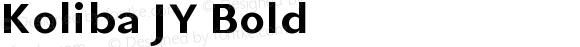 Koliba JY Bold