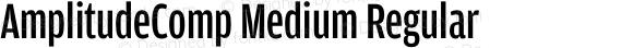 AmplitudeComp Medium Regular Version 1.100;PS 001.001;hotconv 1.0.38