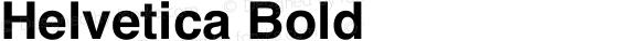 Helvetica Bold
