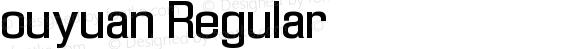 ouyuan Regular