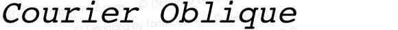 Courier Oblique