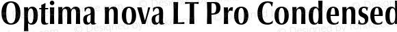 Optima nova LT Pro Condensed Bold Version 1.200;PS 001.002;hotconv 1.0.38