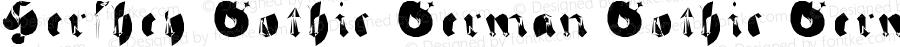 Hershey-Gothic-German Gothic-German Version 1.0