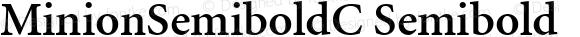 MinionSemiboldC Semibold