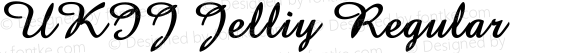 UKIJ Jelliy Regular preview image