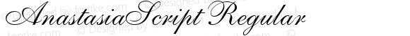 AnastasiaScript Regular