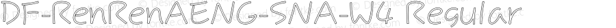 DF-RenRenAENG-SNA-W4 Regular Version 1.000