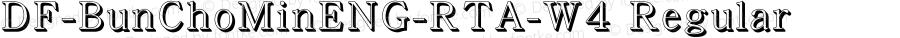 DF-BunChoMinENG-RTA-W4 Regular Version 1.000
