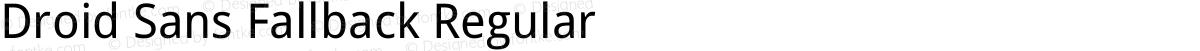 Droid Sans Fallback Regular