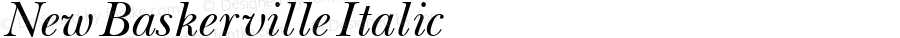 New Baskerville Italic