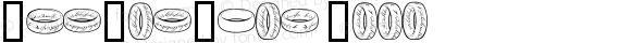 TheOneRing Book Version Macromedia Fontograp