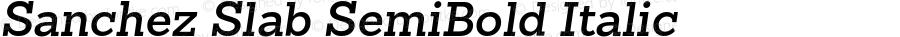 Sanchez Slab SemiBold Italic 1.000;com.myfonts.latinotype.sanchez-slab.semi-bold-italic.wfkit2.3VRo