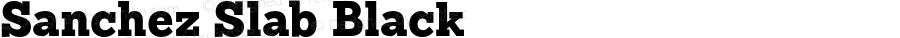 Sanchez Slab Black Version 001.000;com.myfonts.latinotype.sanchez-slab.black.wfkit2.3VRy