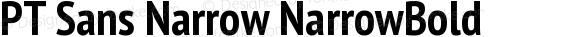 PT Sans Narrow NarrowBold