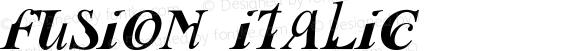Fusion Italic
