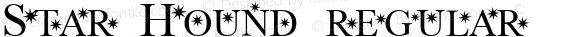 Star Hound regular 2001; 1.0, initial release