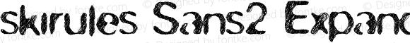 skirules-Sans2 Expanded Medium