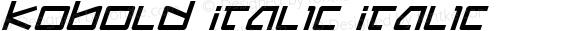 Kobold Italic Italic