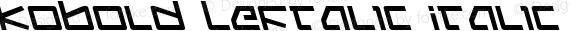 Kobold Leftalic Italic