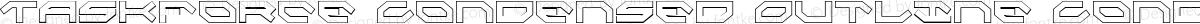 Taskforce Condensed Outline Condensed Outline