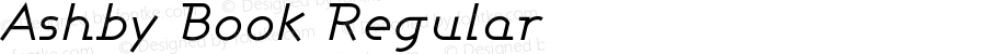 Ashby Book Italic