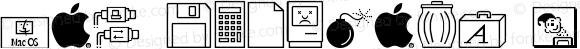 Mac Dingbats Regular 0.0