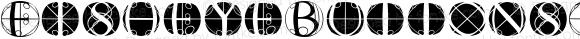 FisheyeButtonsTwo Regular Macromedia Fontographer 4.1.3 03.01.2002