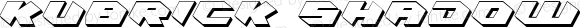 Kubrick Shadow Condensed Condensed