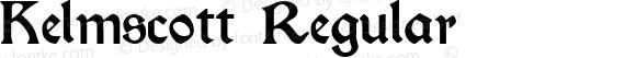 Kelmscott Regular