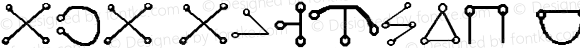 aka Angelic script Regular Version 1.00