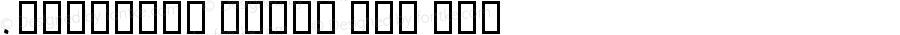 .DecoType Naskh PUA 常规体 10.0d1e1