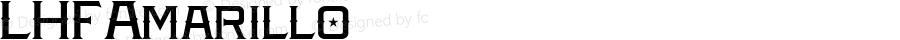 LHFAmarillo ☞ (1.0);com.myfonts.letterheadfonts.lhf-amarillo.regular.wfkit2.3z9U