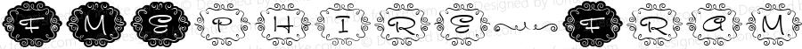 FMEphire-Frames ☞ Version 1.005;com.myfonts.fontmaker.fm-ephire.frames.wfkit2.3V2j