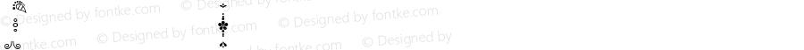 DarjeelingOrnaments ☞ Version 1.000;com.myfonts.facetype.darjeeling.ornaments.wfkit2.3oVh