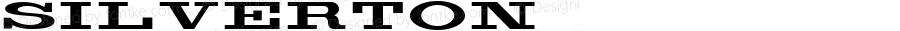 Silverton ☞ Version 1.000 2006 initial release;com.myfonts.aerotype.silverton.regular.wfkit2.2WfH