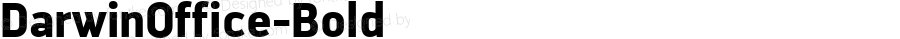 DarwinOffice-Bold ☞ Version 1.000;com.myfonts.easy.los-andes.darwin-office.bold.wfkit2.version.4knt