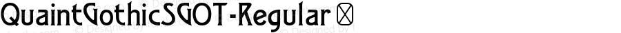 QuaintGothicSGOT-Regular ☞ 002.640;com.myfonts.easy.spiecegraphics.quaint-gothic-sg.regular.wfkit2.version.2yZp
