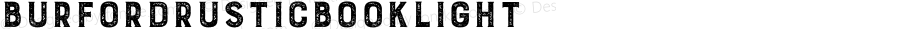 BurfordRusticBookLight ☞ Version 1.000;com.myfonts.easy.kimmy.burford-rustic.light.wfkit2.version.4nYd