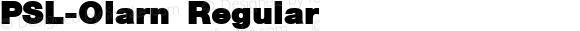 PSL-Olarn Regular Version 1.000 2006 initial release