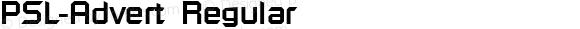 PSL-Advert Regular Version 1.000 2006 initial release