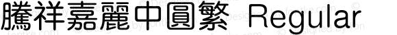 腾祥嘉丽中圆繁 Regular Version  1.01