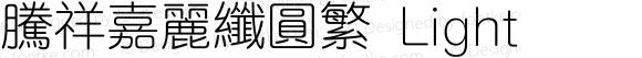 腾祥嘉丽纤圆繁 Light Version  1.01
