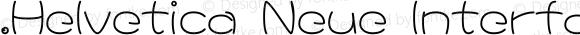 .Helvetica Neue Interface Bold