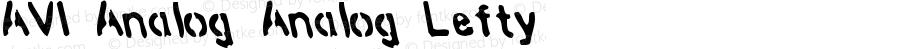 AVI-Analog Analog-Lefty Version 001.000