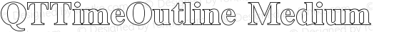 QTTimeOutline Medium Version 001.000